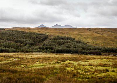 Cuillin Hills View